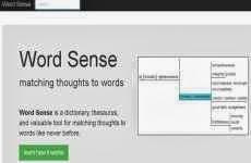 Word Sense: definiciones, diccionario de sinónimos y palabras relacionadas en idioma inglés