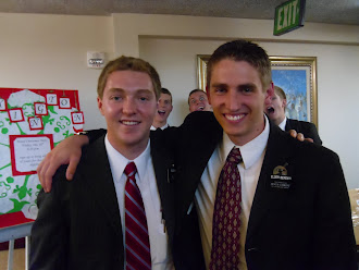 Kelly with Elder Berenyi