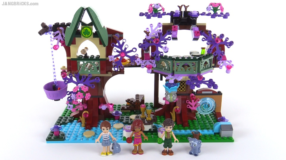 LEGO Elves: The Elves' Treetop Hideaway review! set 41075