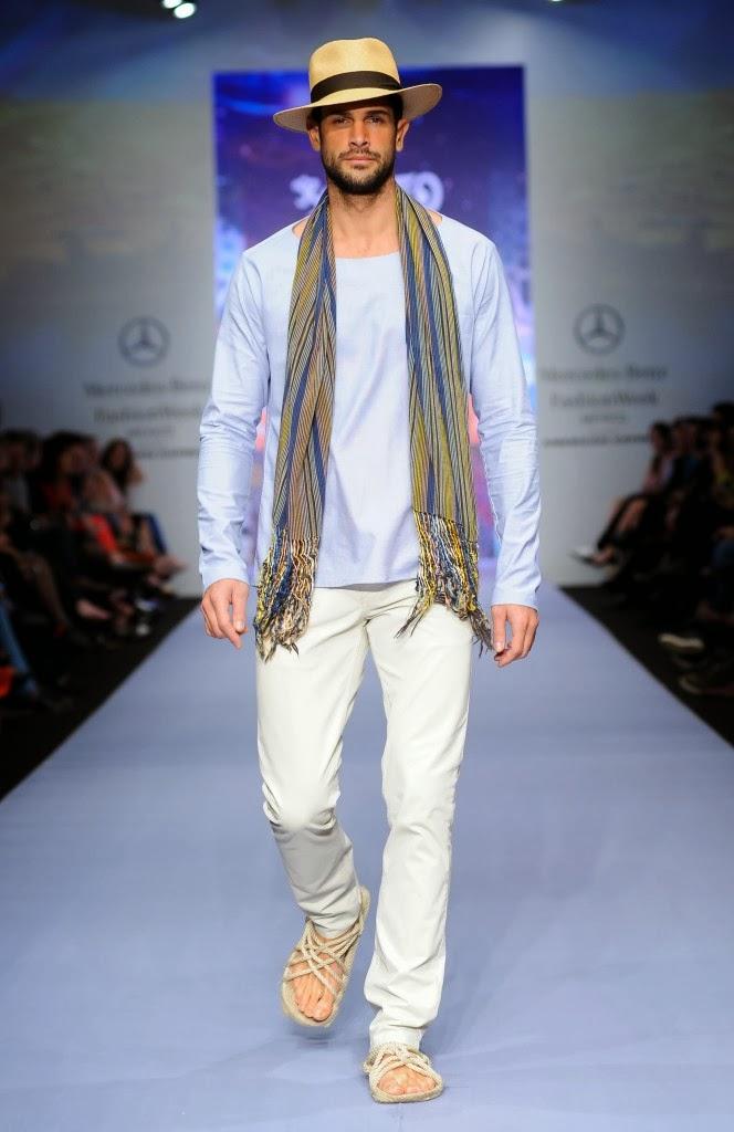 Black spring summer 2014 mercedes benz fashion week for Mercedes benz clothing men