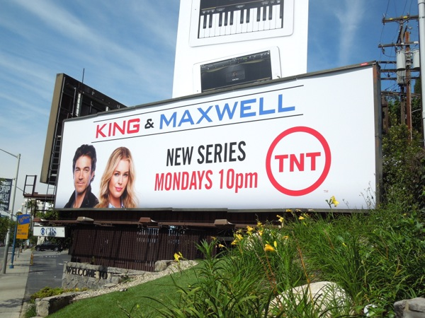King and Maxwell billboard