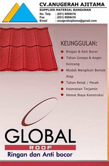 BROSUR GENTENG METAL GLOBAL
