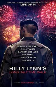 Billy Lynn's Long Halftime Walk Poster