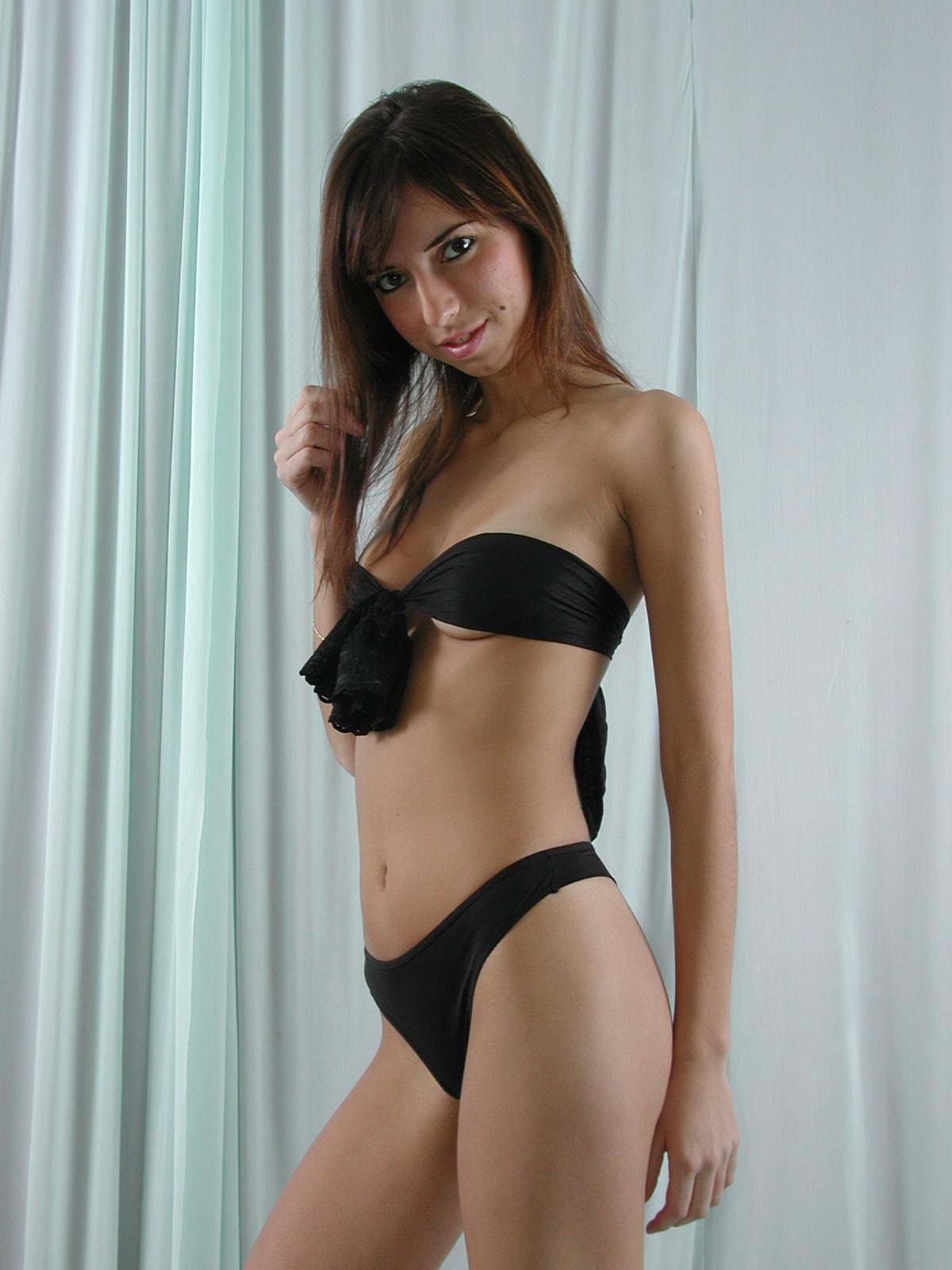 Pantyhose Stocking Lingerie Vladmodel Topless Set