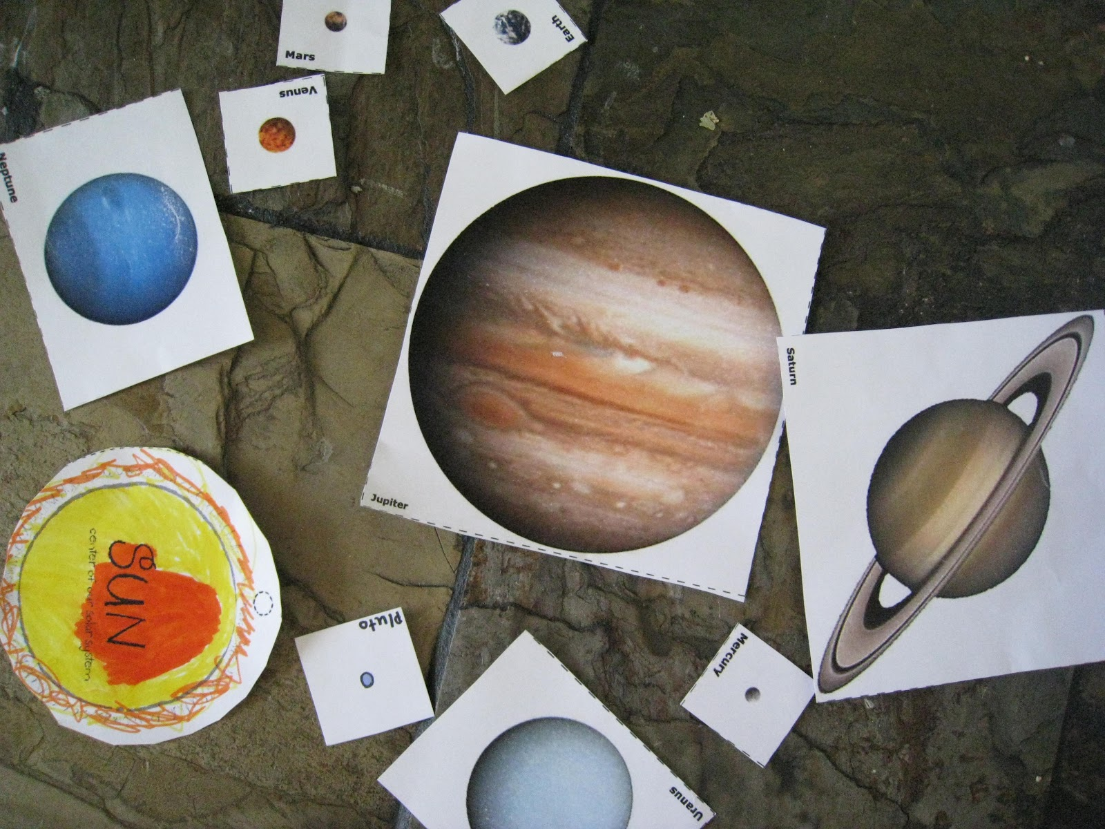 graphic about Printable Planets to Scale titled Location Gadget for Little ones Practice Beside Me