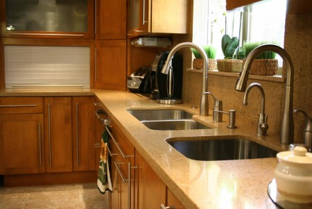 Reparaci n casera llave mezcladora o grifo de cocina for Llaves para fregadero helvex