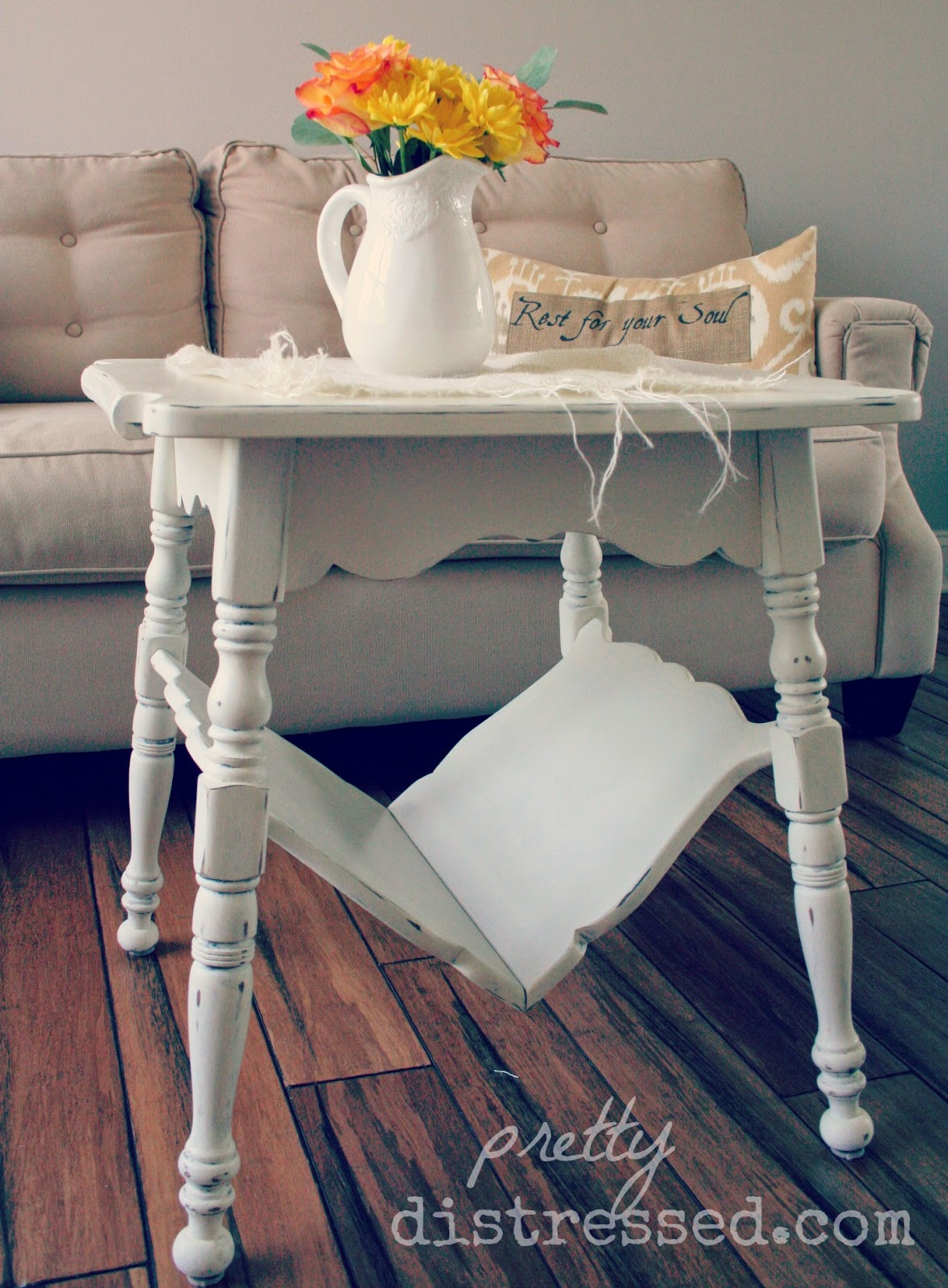 Awesome chalk paint white