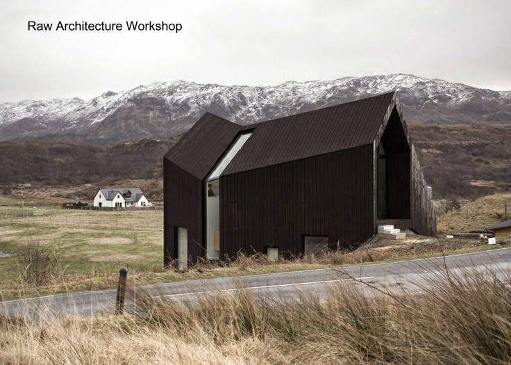 Casa de campo contemporánea y original en Escocia, Reino Unido