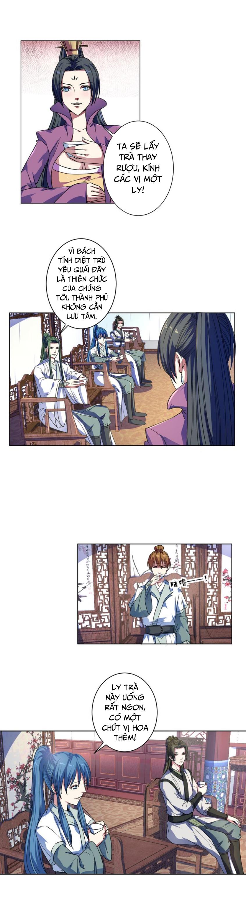 Nghịch Thiên Đại Thần chap 9 - Trang 4