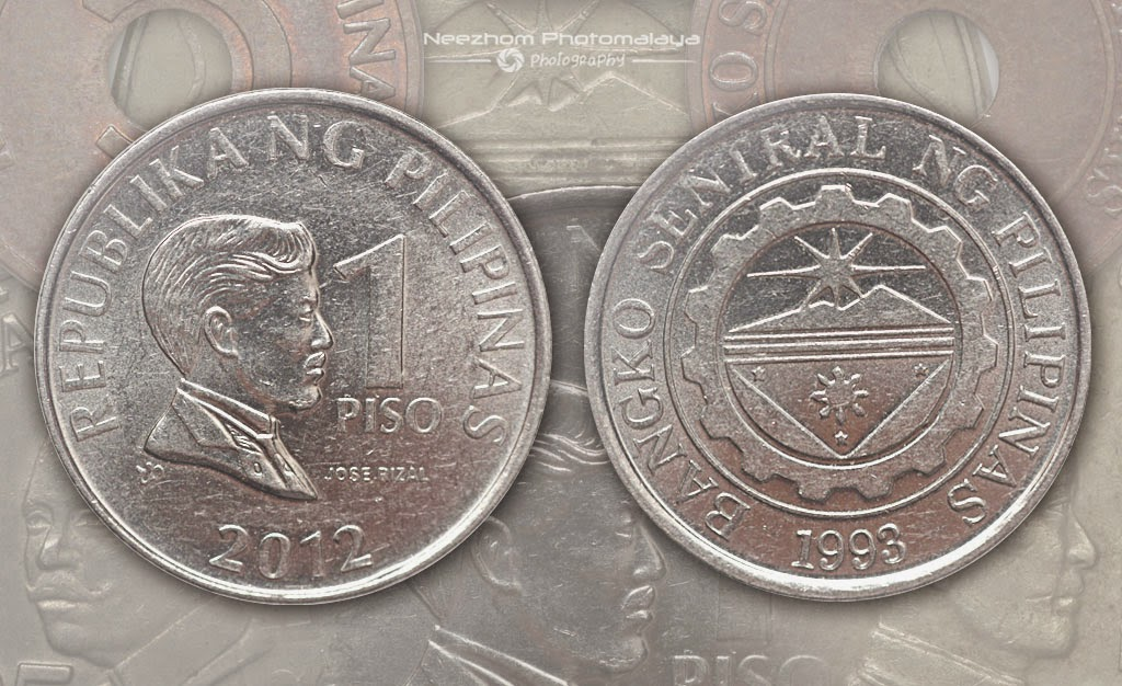 Philippines coins 1 Piso 2012