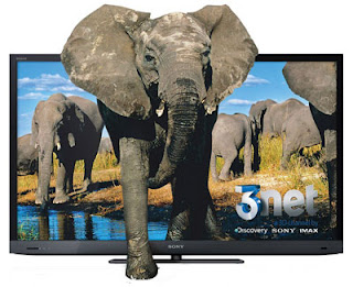 3D internet TV Sony Bravia KDL-55EX720