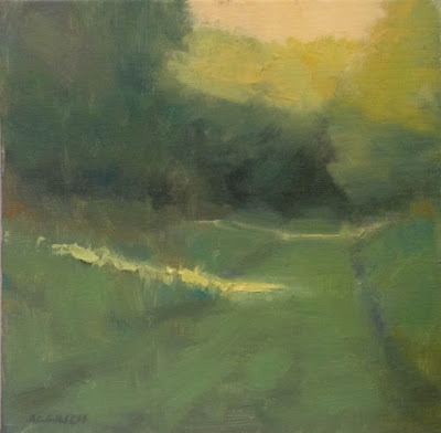 Impressionist oil landscape painting by artist Steve Allrich