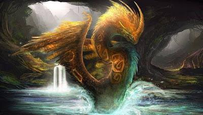 Kukulkan - Naga Mitologi Suku Maya Aztec