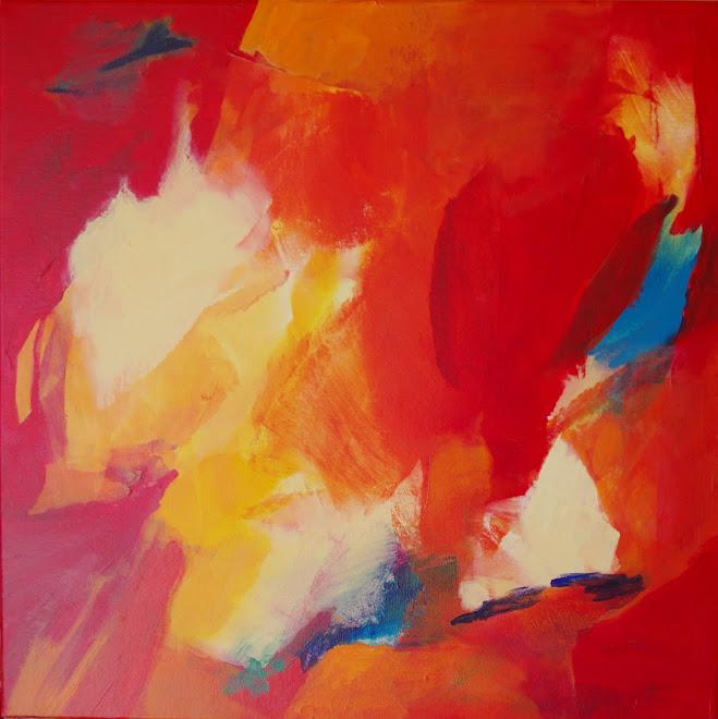 Nieuw schilderij. Acryl op doek 50 x 50 cm