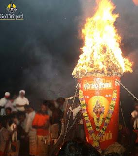 Thiruvannamalai Karthigai Deepam