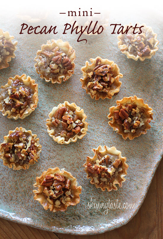 Mini Pecan Phyllo Tarts Recipe — Dishmaps
