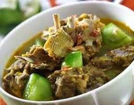 Resep Praktis (mudah) membuat masakan khas tengkleng kambing ala solo enak, lezat