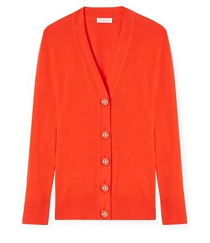 tory burch private sale simone cardigan