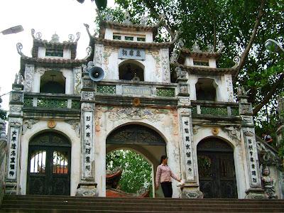 Cho thuê xe đi Đền bà Chúa Kho - Chùa Dâu - Bắc Ninh 4