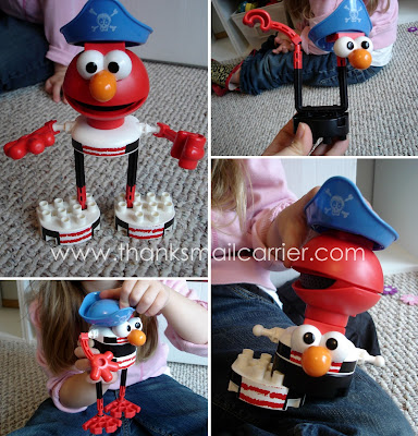 Talking Pirate Elmo Building Set