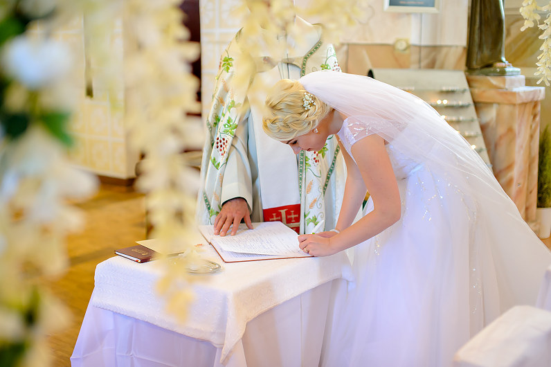 vestuvės Nemunėlio Radviliškio Švč. Mergelės Marijos bažnyčioje