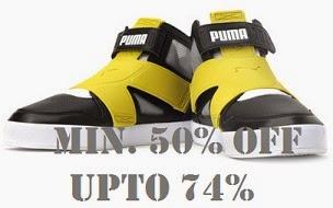 Min 50% Off – Upto 74% Off on Top Brand Men's Shoes, Slippers (PUMA,  REEBOK, ADIDAS, LOTTO, FILA, LEE COOPER, CLARKS, UCB) @ Flipkart