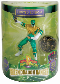 "Bandai Power Rangers SDCC 2013 Exclusive 4"" Green Ranger Figure"