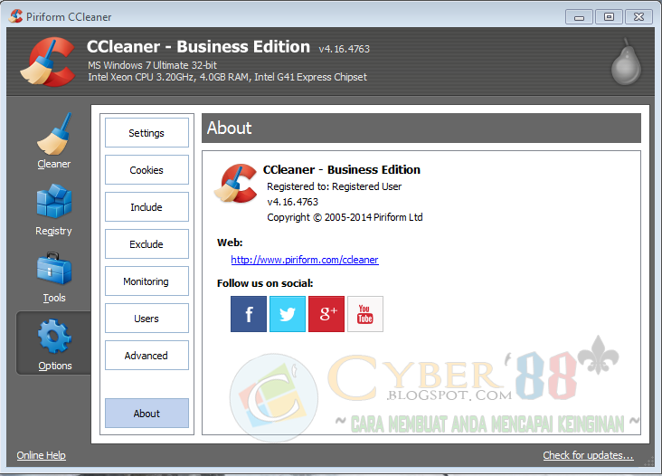 CCleaner 4.16.4763 Pro & Business Edition 2014 + Crack