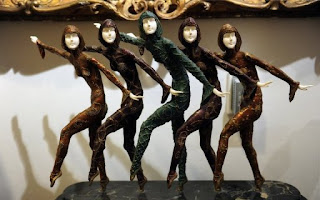five dancers ornament treasures from jackson