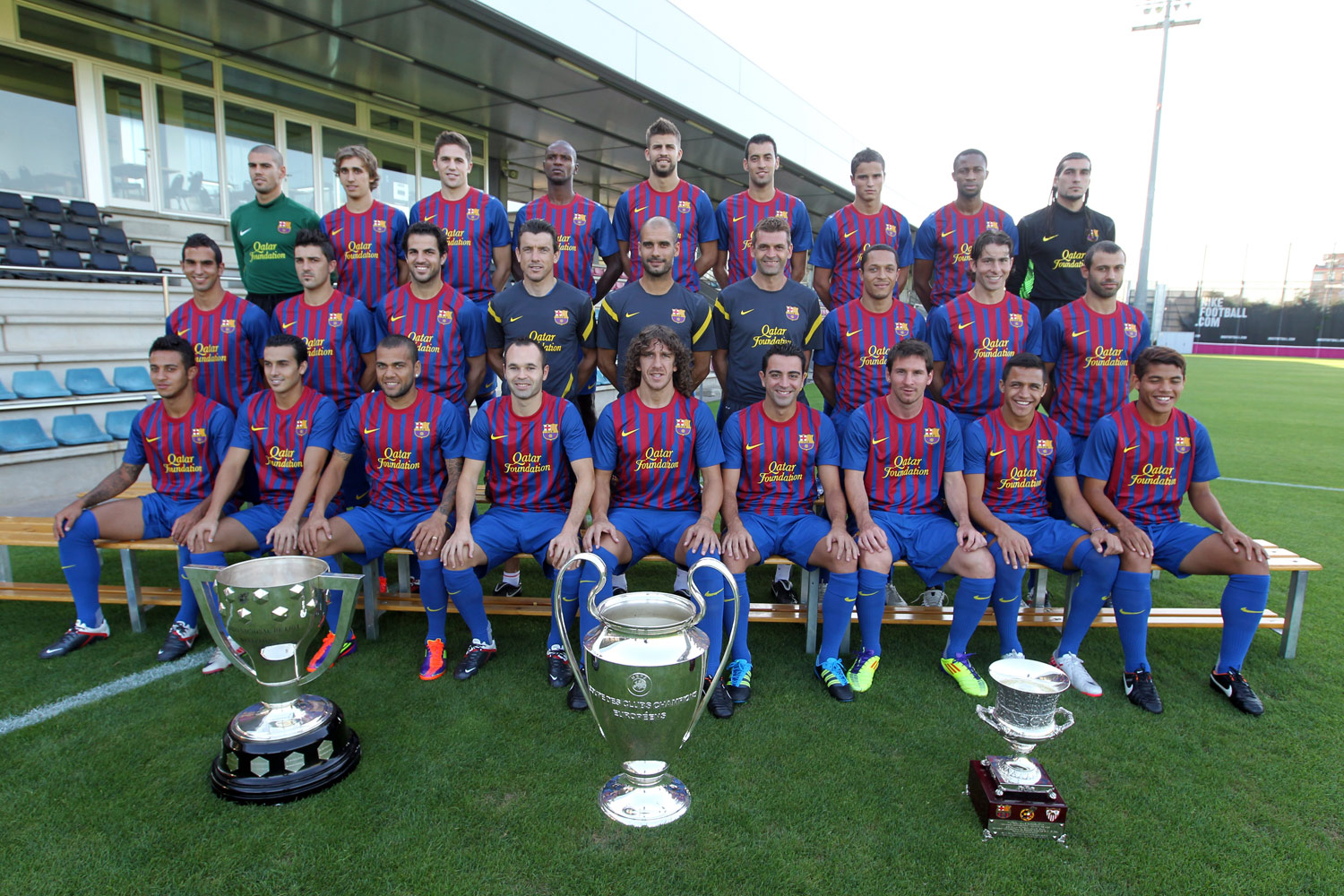 Barcelona The Best Football Club In Europe 2012 - Best Football Club picture wallpaper image