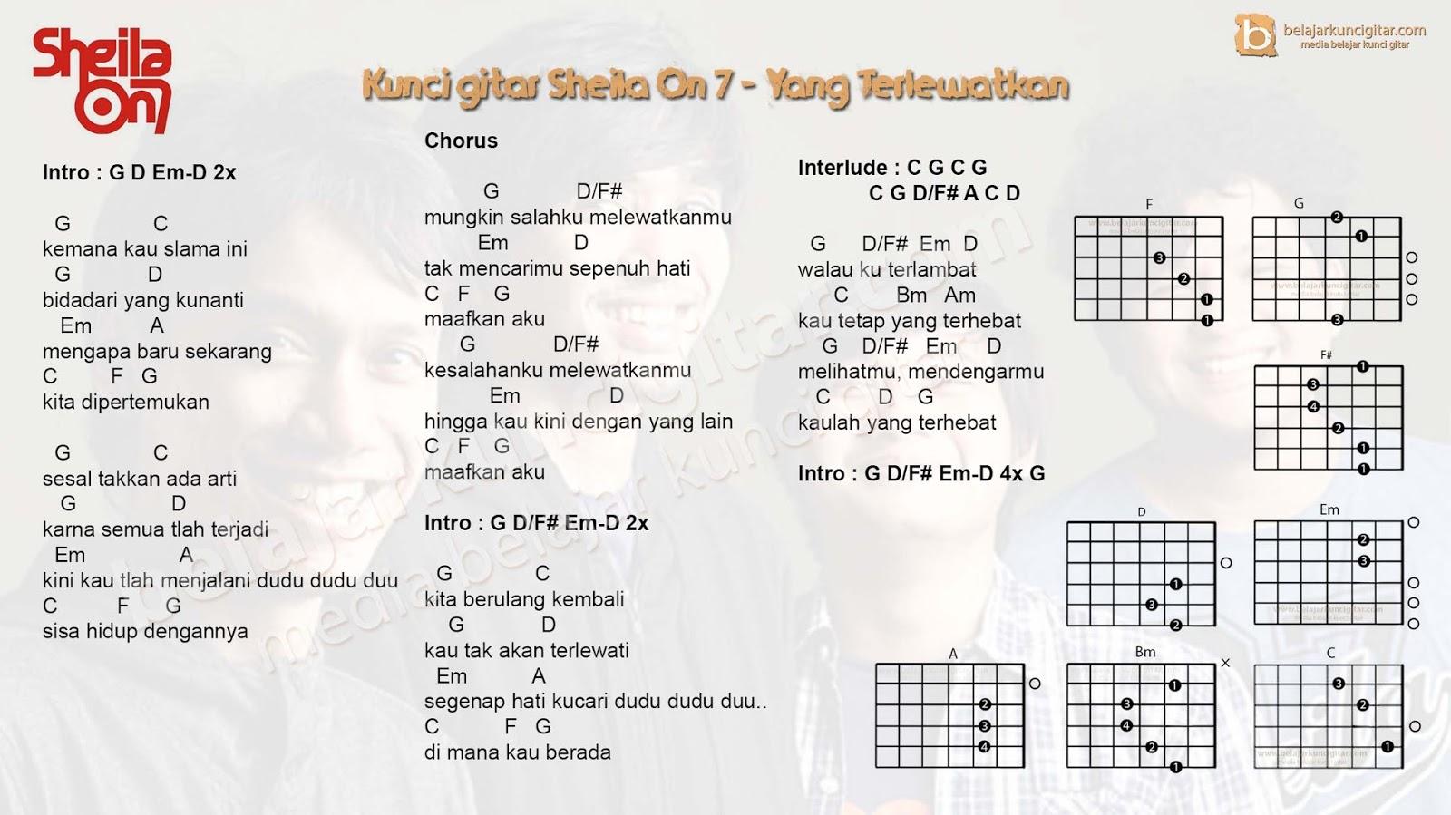 Chord Gitar Yang Terlewatkan