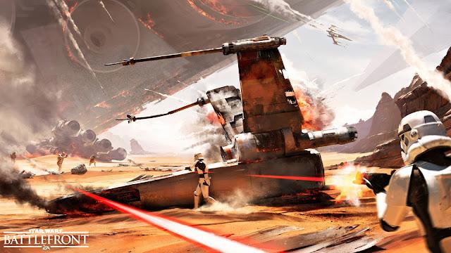 Star Wars: Battlefront jakku