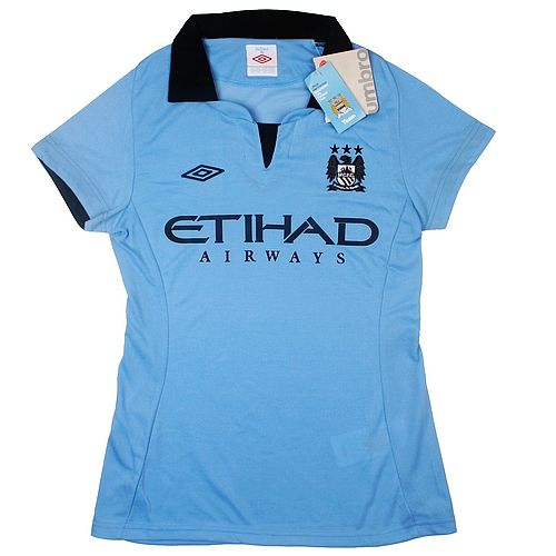 Ladies Jersey Manchester City Home 12/13