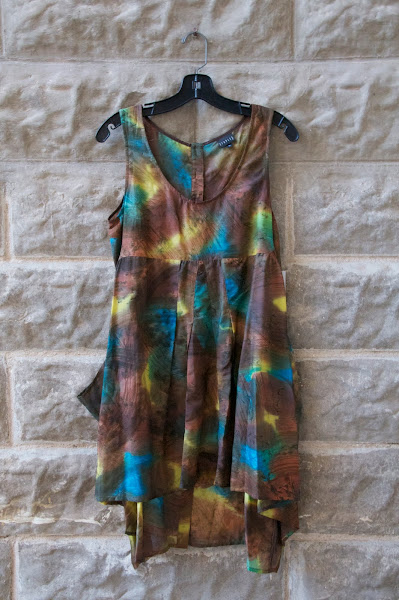 Silk dress, Front view.  $148