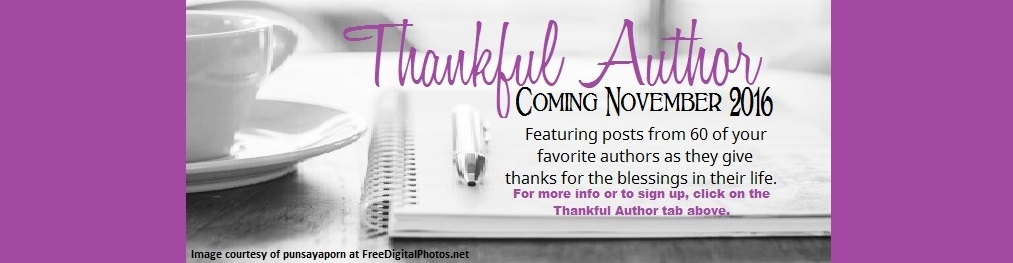 Thankful Author 2016