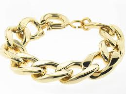 50th Anniversary Gift Gold Bracelet