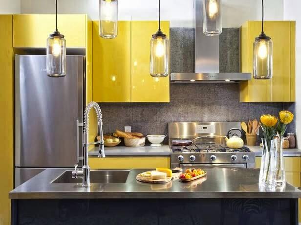 decoracao cozinha diy:DIY Decoração: Cozinhas Amarelas
