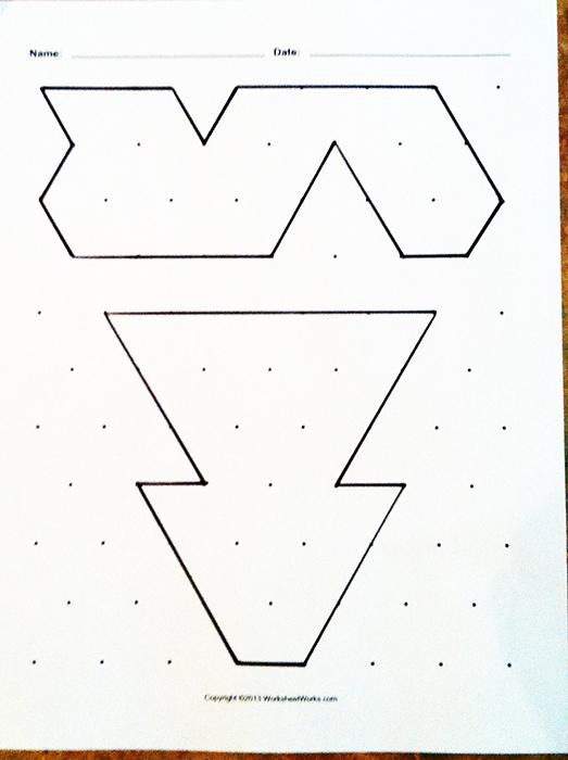 Pattern Block Worksheets 2nd Grade - pattern blocks worksheet 2nd ...