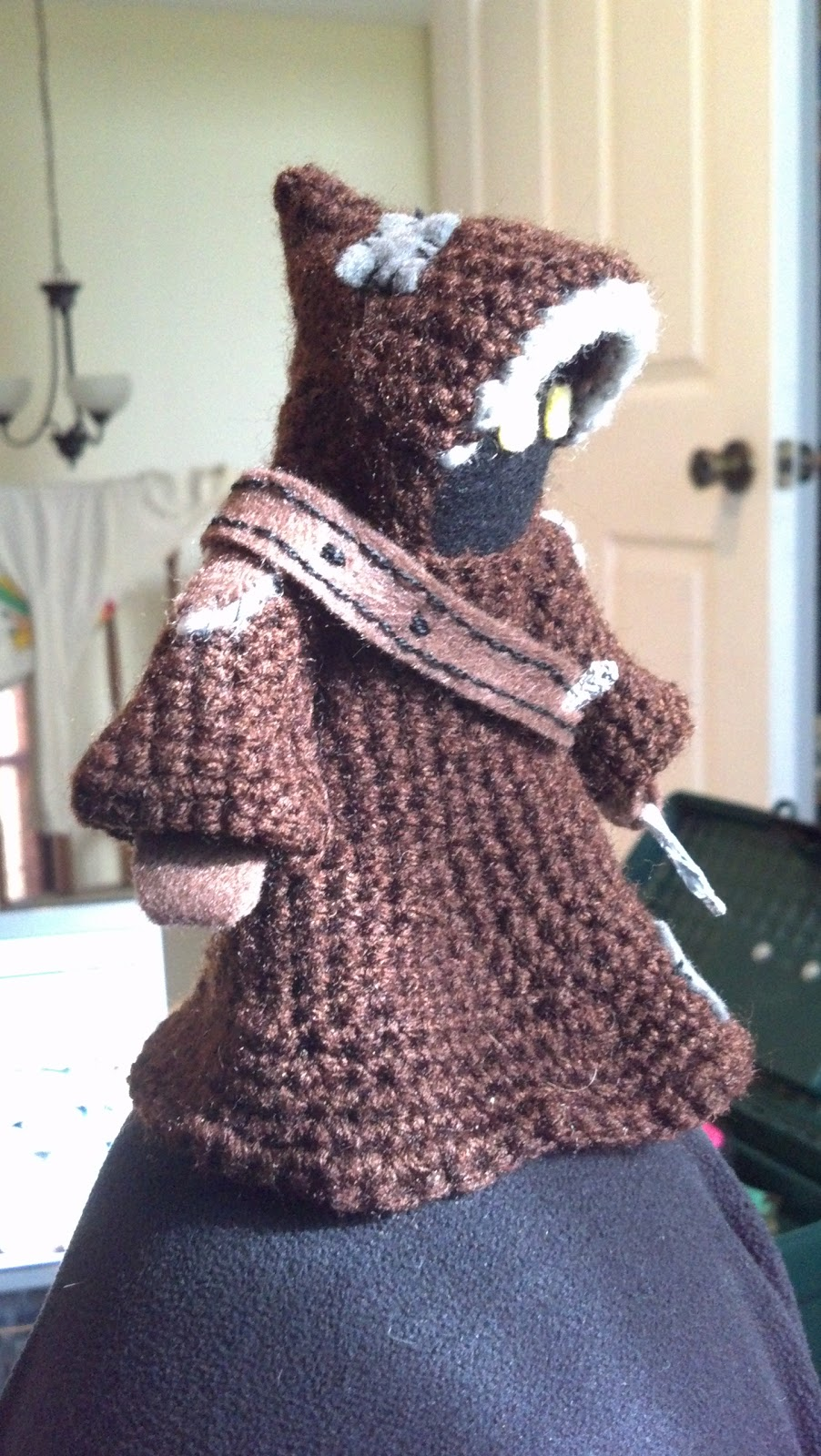 Jawa Star Wars Amigurumi : Mostly Nerdy Crochet: Jawa!