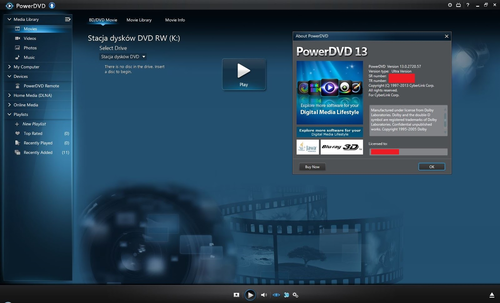 how to play blu ray on pc free