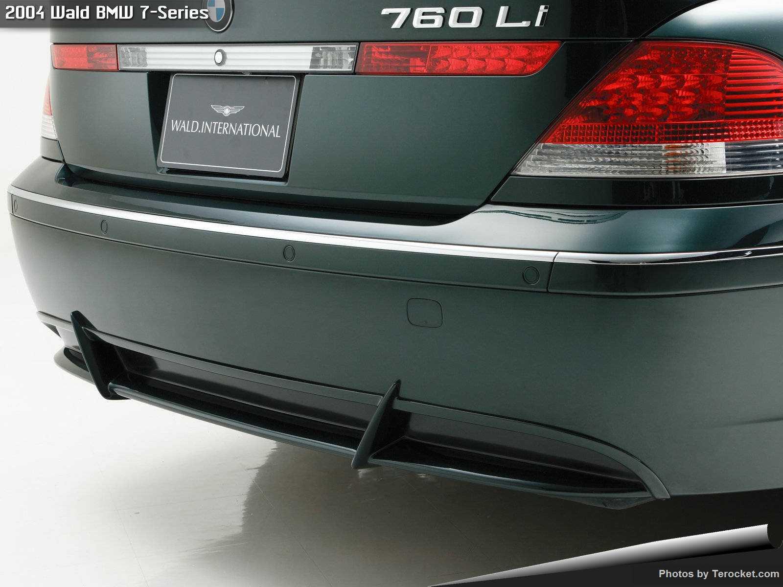 Hình ảnh xe độ Wald BMW 7-Series 2004 & nội ngoại thất