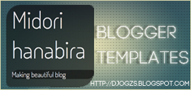 Midori Hanabira Blogger Templates