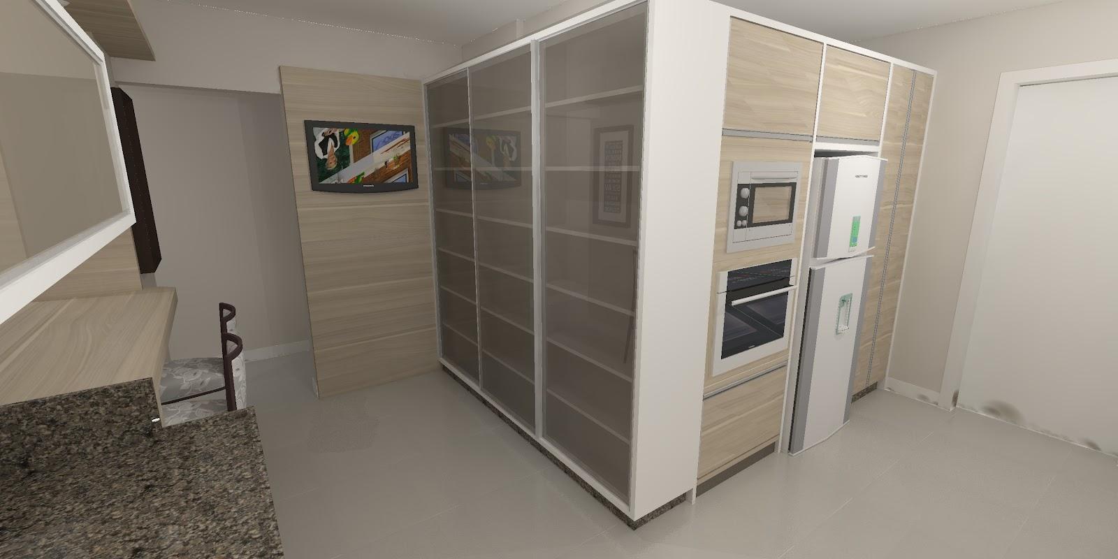 Sekai Projetos e Interiores: Sala e cozinha conjugadas #4E7D57 1600 800