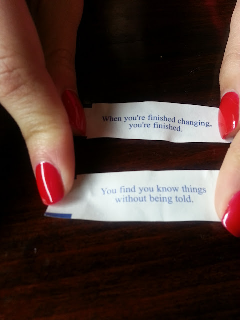 Two fortunes from Fortune Cookies