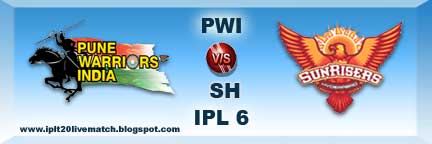 IPL 6 PWI vs SRH Full Highlight Video Match and Records