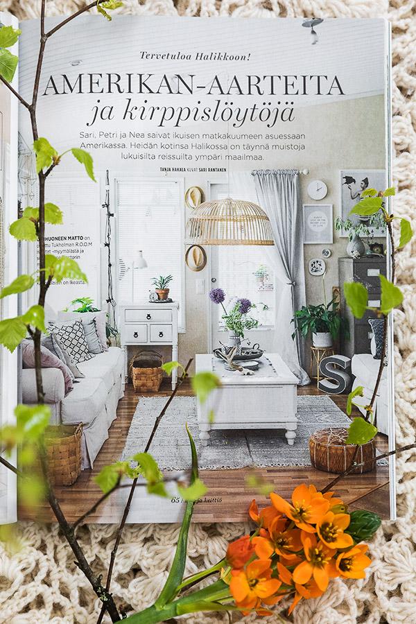 Oma kotini Koti ja Keittiö-lehdessä