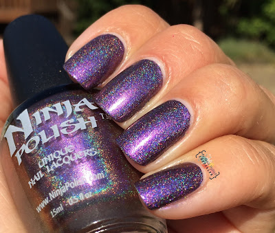 Ninja Polish CosmoProf 2015 exclusive Streaking Ninja