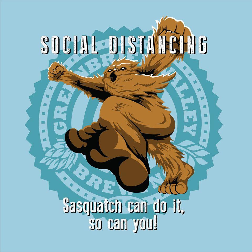Distanciamiento social. Pie grande lo puede hacer, ¡tú también puedes!