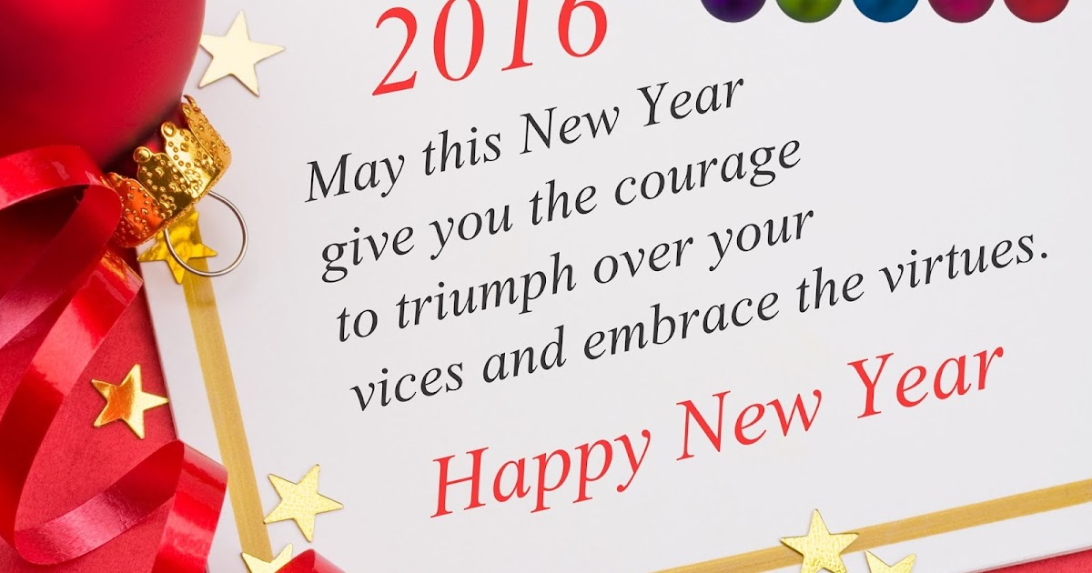 Happy New Year Wishes In English || New Year 2016 Wishes !!
