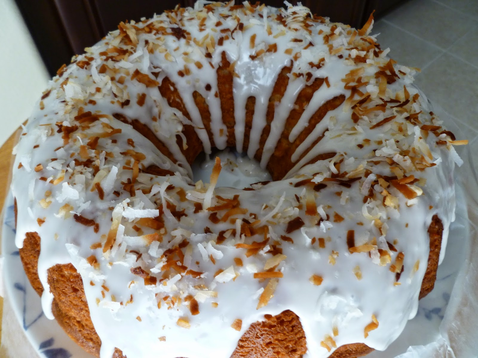 Lime Coconut Sour Cream Bundt Cake Recipe — Dishmaps